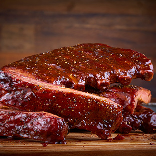 Barbecue Pork Ribs, Size Approx. 3 lbs.