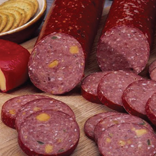 Beef Summer Sausage with Jalapeno/Cheese